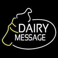 Custom Dairy With Logo Neontábla