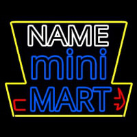 Custom Mini Mart Neontábla
