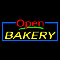 Custom Open Bakery 1 Neontábla