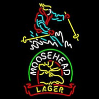 Custom Steamboat Moosehead Beer Neontábla