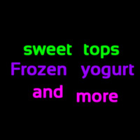 Custom Sweet Tops Frozen Yogurt And More 1 Neontábla