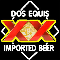 DOS Equis Imported Beer Sign Neontábla