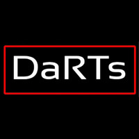 Darts With Red Border Neontábla