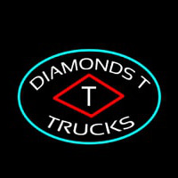 Diamond T Trucks Neontábla