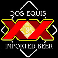 Dos Equis Beer Sign Neontábla