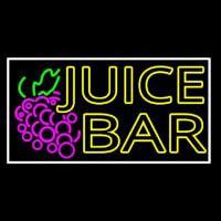 Double Stroke Juice Bar With Grapes Neontábla