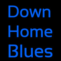 Down Home Blues Neontábla