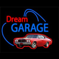 Dream Garage Chevy Chevelle Ss Neontábla