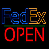 Fede  Logo With Open 1 Neontábla