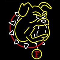 Ferris State Bulldogs Primary Neontábla