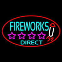 Fire Work Direct 2 Neontábla