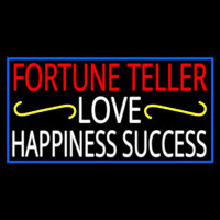 Fortune Teller Love Happiness Success With Phone Number Neontábla