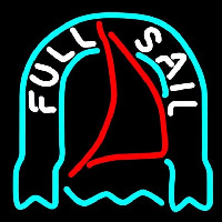 Fosters Full Sail Beer Sign Neontábla