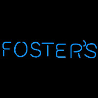 Fosters Word Beer Sign Neontábla