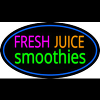Fresh Juices Smoothies Neontábla