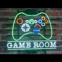 Game Room MAN CAVE  Neontábla