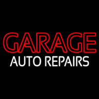 Garage Auto Repairs Neontábla