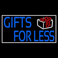 Gifts For Less With Logo Neontábla