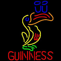 Great Looking Multicolored Guinness Beer Sign Neontábla