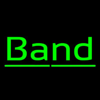 Green Band 1 Neontábla