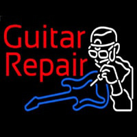 Guitar Repair  Neontábla
