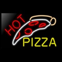 HOT PIZZA Neontábla