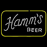 Hamms Square Beer Sign Neontábla