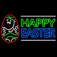 Happy Easter 3 Neontábla