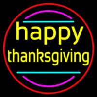 Happy Thanksgiving 1 Neontábla