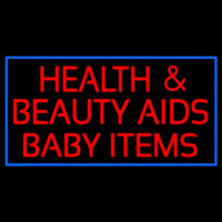 Health And Beauty Aids Baby Items Neontábla