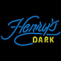 Henrys Dark Beer Sign Neontábla