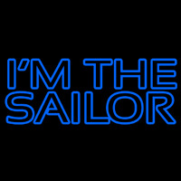 I Am The Sailor Neontábla