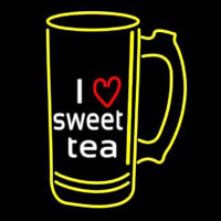 I Love Sweet Tea Neontábla