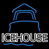 Ice House Day Light House Beer Sign Neontábla