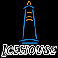 Ice House Light House Beer Sign Neontábla
