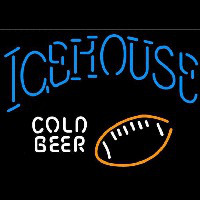 Icehouse Football Cold Beer Sign Neontábla