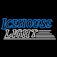 Icehouse Light Beer Sign Neontábla