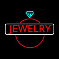 Jewelry Center Ring Logo Neontábla