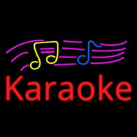 Karaoke With Musical Neontábla