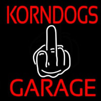 Kornogs Garage Neontábla