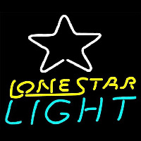 Lone Star Light Bar Pool Room Man Cave Necessity Neontábla