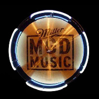 MGD Miller Genuine Draft Drum Symbol Beer Sign Neontábla