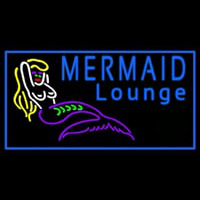 Mermaid Lounge Neontábla