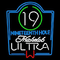 Michelob Ultra 19th Hole Neontábla