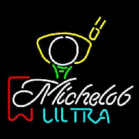 Michelob Ultra Red Ribbon PGA Golf Neontábla