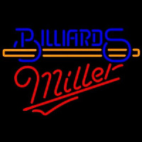 Miller Billiards With Stick Pool Neontábla