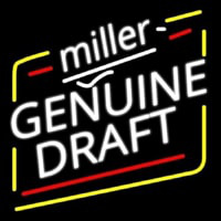 Miller Genuine Draft Beer Neontábla