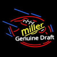 Miller Genuine Draft Foot Ball Neontábla