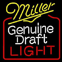Miller Genuine Draft Golden Gate Bridge Wide Neontábla