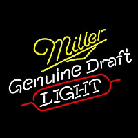 Miller Genuine Draft Light Neontábla
